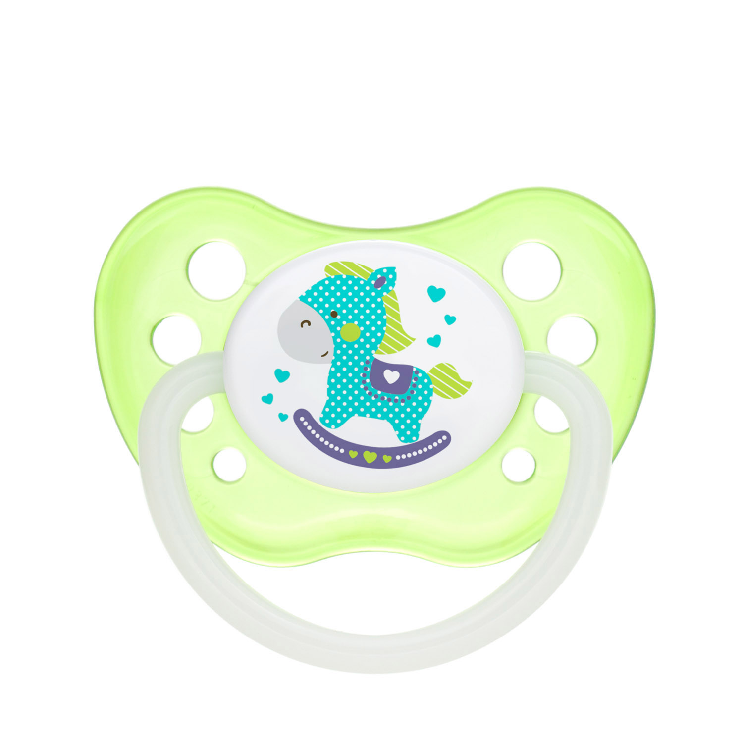 Canpol babies Silicone Orthodontic Soother 0-6m TOYS green